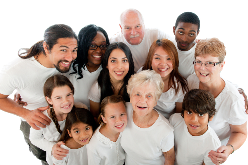 A group of diverse adults and children to represent our foster carers in Essex,, Cambridgeshire and Suffolk. This helps prospective carers asking about fostering near me.