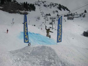 Chatel Waterslide