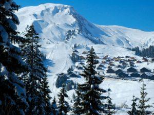 Val d'Illiez-Les Crosets-Champoussin - The Aiguille des Champeys